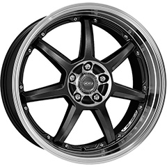 DOTZ Fast Seven Gunmetal polished